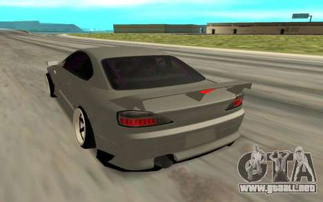 Nissan Silvia S15 Face BMW 46 para GTA San Andreas left