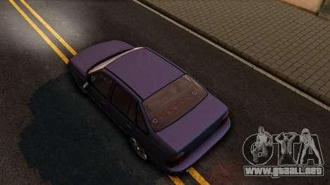 Daewoo Cielo 2001 para GTA San Andreas vista hacia atrás