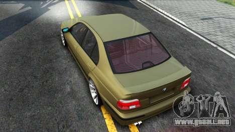 BMW 530D E39 para la visión correcta GTA San Andreas