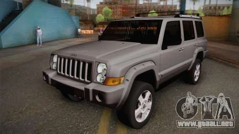 Jeep Commander 2010 para GTA San Andreas