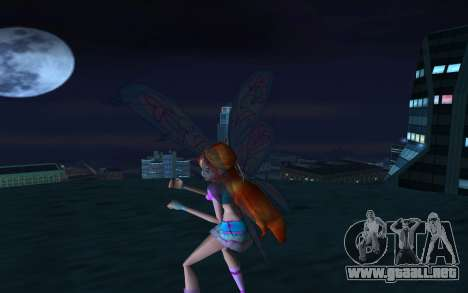 Bloom Believix from Winx Club Rockstars para GTA San Andreas segunda pantalla