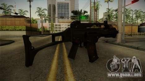 HK G36C v3 para GTA San Andreas tercera pantalla