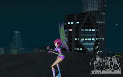 Tecna Believix from Winx Club Rockstars para GTA San Andreas segunda pantalla