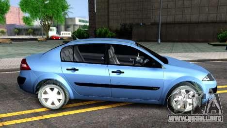 Renault Megane Sedan para GTA San Andreas left