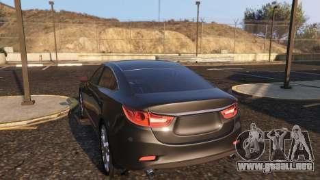 GTA 5 Mazda 6 2016 vista lateral derecha