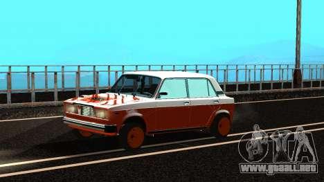 VAZ 2105 parche 3.0 para GTA San Andreas