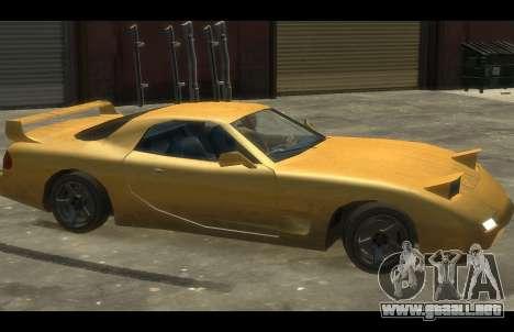 ZR 350 GTA San Andreas v1.0 para GTA 4