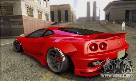 Ferrari 360 LB Work para GTA San Andreas left