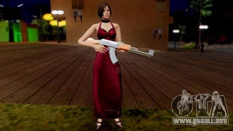 Resident Evil 6 - Ada Dress para GTA San Andreas tercera pantalla