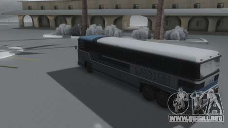 Bus Winter IVF para GTA San Andreas left