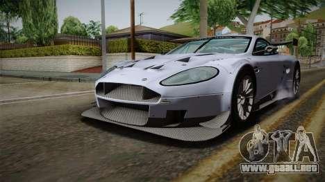 Aston Martin Racing DBR9 2005 v2.0.1 para la visión correcta GTA San Andreas