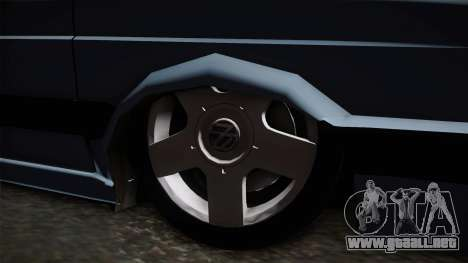 Volkswagen Saveiro 1994 para GTA San Andreas vista hacia atrás