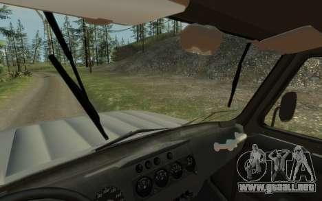 УАЗ 469 (Paul Black prod.) para GTA 4 Vista posterior izquierda