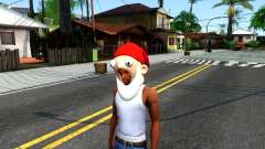 Gnome Mask From The Sims 3 para GTA San Andreas