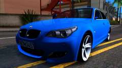 BMW E60 520D M Technique para GTA San Andreas
