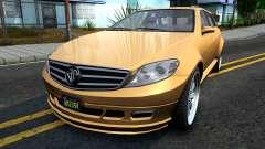 GTA V Benefactor Schafter Wagon para GTA San Andreas