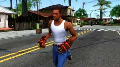 Red Bear Claws Team Fortress 2 para GTA San Andreas