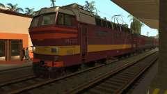 Locomotora de pasajeros CHS4t-521 para GTA San Andreas