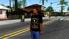 Black Beer T-Shirt para GTA San Andreas