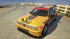 Peugeot 205 Turbo 16 para GTA 5