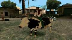 Montar a la vaca para GTA San Andreas