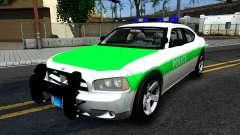 Dodge Charger German Police 2008 para GTA San Andreas