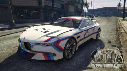 BMW 3.0 CSL Hommage R Concept para GTA 5