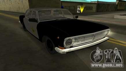 GAZ 24-10 Sheriff para GTA San Andreas