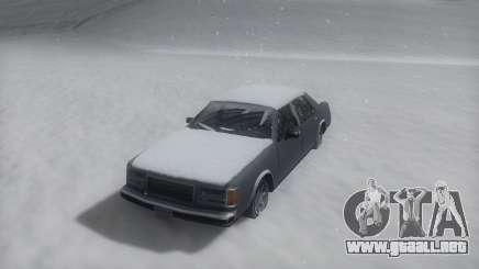 Washington Winter IVF para GTA San Andreas