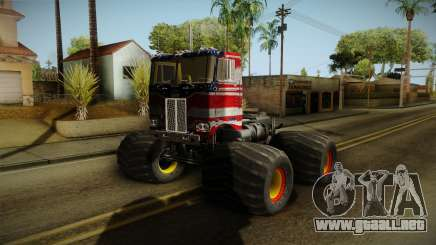 Peterbilt Monster Truck para GTA San Andreas