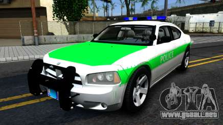 Dodge Charger German Police 2008 para GTA San Andreas