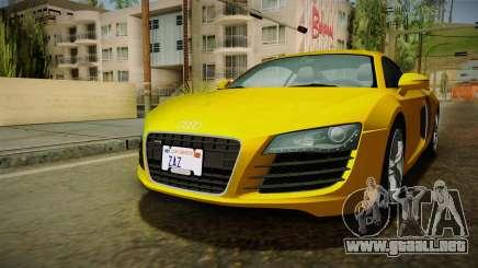 Audi R8 Coupe 4.2 FSI quattro EU-Spec 2008 Dirt para GTA San Andreas