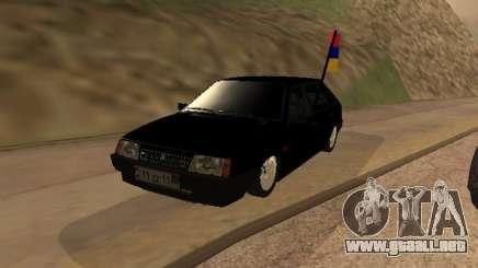 VAZ 2109 Armenian para GTA San Andreas