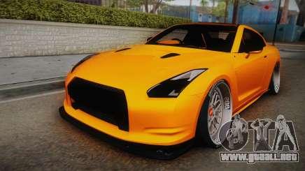 Nissan GT-R R35 2015 para GTA San Andreas