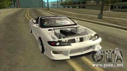 Nissan Silvia s15 Kabrio para GTA San Andreas