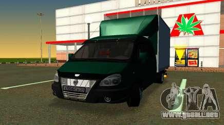 Gazelle Agricultor v2 para GTA San Andreas
