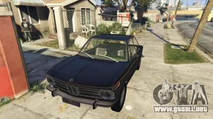BMW 2002 72 para GTA 5