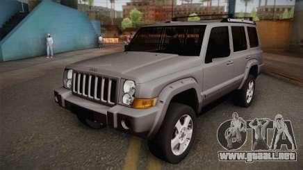 Jeep Commander 2010 para GTA San Andreas