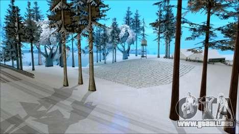 Nuevo invierno mod para GTA San Andreas tercera pantalla