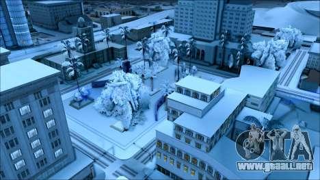 Nuevo invierno mod para GTA San Andreas sexta pantalla