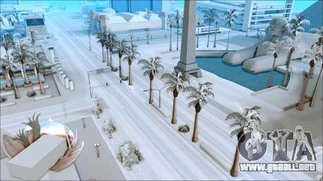 Nuevo invierno mod para GTA San Andreas segunda pantalla