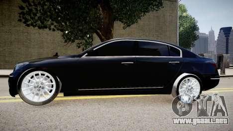 Hyundai Genesis 2008 para GTA 4