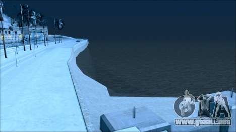Nuevo invierno mod para GTA San Andreas octavo de pantalla