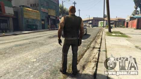 GTA 5 Left4Dead 1 Francis tercera captura de pantalla
