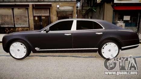 Bentley Mulsanne 2014 para GTA 4