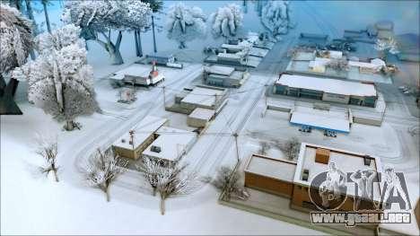 Nuevo invierno mod para GTA San Andreas