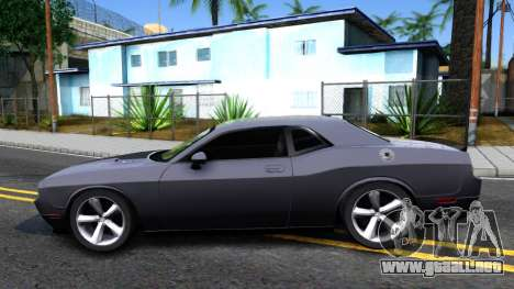 Dodge Challenger Unmarked 2010 para GTA San Andreas left