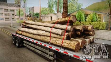 GTA 5 Log Trailer v2 IVF para visión interna GTA San Andreas