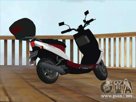 GTA IV Faggio Traveler para GTA San Andreas left