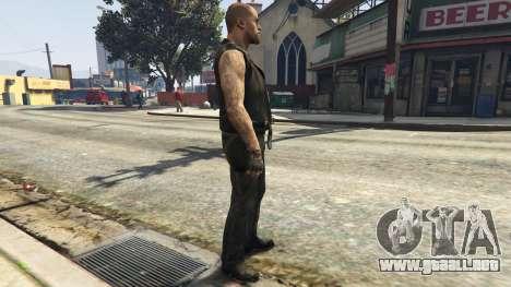 GTA 5 Left4Dead 1 Francis segunda captura de pantalla
